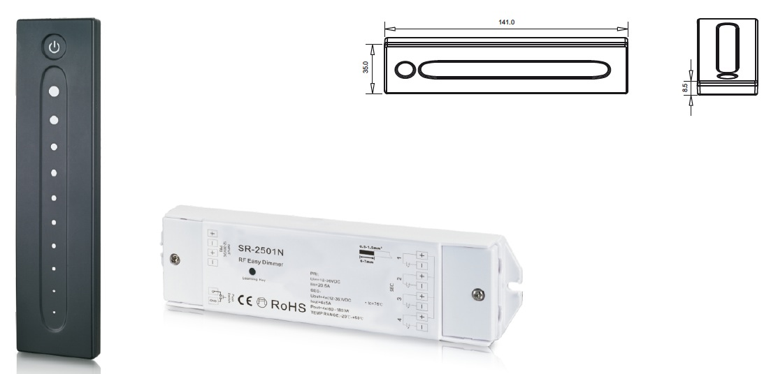 SR-2828 Single Color Dimmer