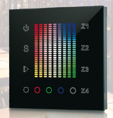 SR-2831 Wall Mounted WiFi RGB-Controller