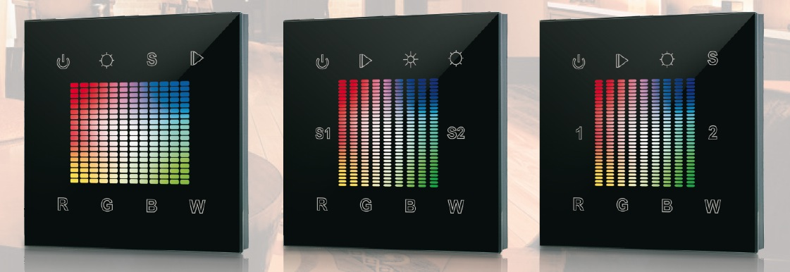 SR-2832 Wall Mounted WiFi RGB-Controller