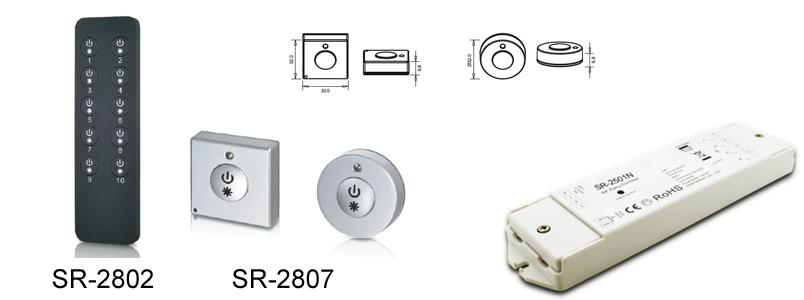SR-2802 Single Color Dimmer