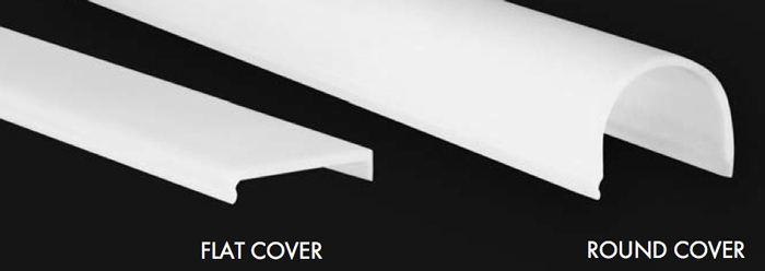 LED-Aluminiumprofil OS Cover