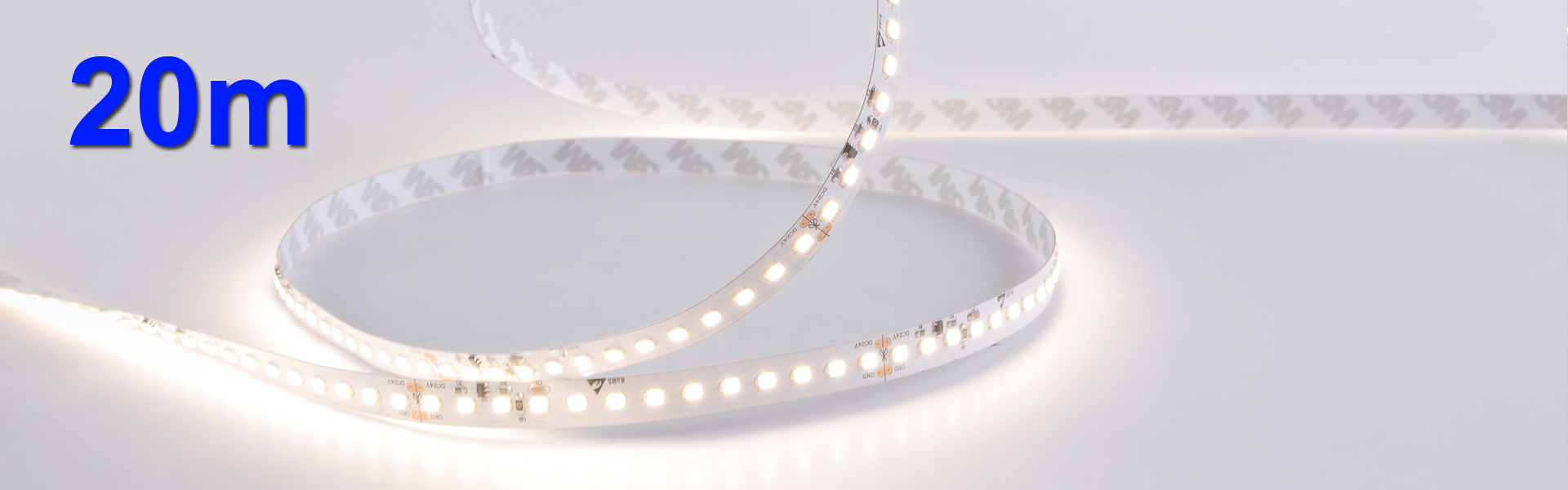 2835 14,4W/m 20m CC-LED-Stripe