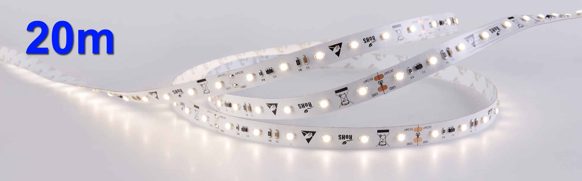 3528 4,8W/m 20m CC-LED-Stripe