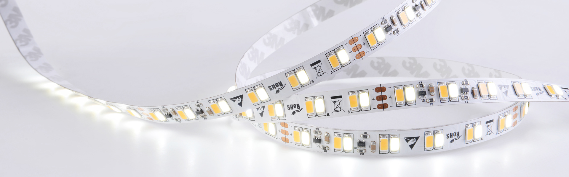 5730 25W /m 5m NW+W CC-LED-Stripe
